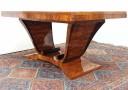 Stůl rozkládací Art Deco. Design 1925.
